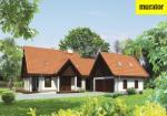 Проект одноэтажного дома с мансардой  - Муратор М125а